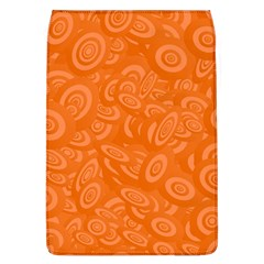 Orange Abstract 45s Removable Flap Cover (large) by StuffOrSomething