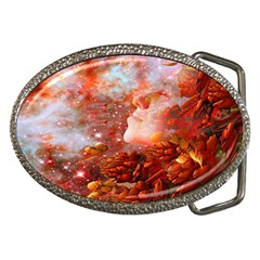 Star Dream Belt Buckle (oval) by icarusismartdesigns