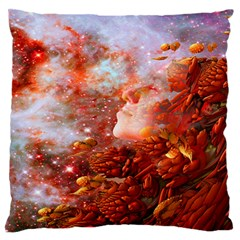 Star Dream Large Flano Cushion Case (one Side) by icarusismartdesigns