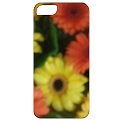 Orange Yellow Daisy Flowers Gerbera Apple Iphone 5 Classic Hardshell Case by yoursparklingshop