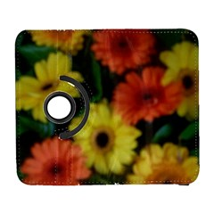 Orange Yellow Daisy Flowers Gerbera Samsung Galaxy S  Iii Flip 360 Case by yoursparklingshop