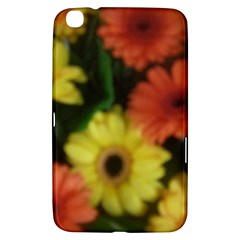 Orange Yellow Daisy Flowers Gerbera Samsung Galaxy Tab 3 (8 ) T3100 Hardshell Case  by yoursparklingshop