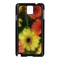Orange Yellow Daisy Flowers Gerbera Samsung Galaxy Note 3 N9005 Case (black) by yoursparklingshop