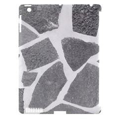 Grey White Tiles Pattern Apple Ipad 3/4 Hardshell Case (compatible With Smart Cover)