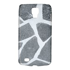 Grey White Tiles Pattern Samsung Galaxy S4 Active (i9295) Hardshell Case