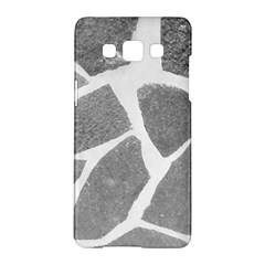 Grey White Tiles Pattern Samsung Galaxy A5 Hardshell Case