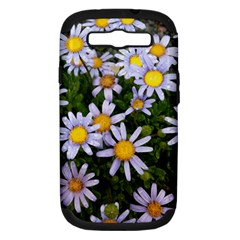 Yellow White Daisy Flowers Samsung Galaxy S Iii Hardshell Case (pc+silicone)