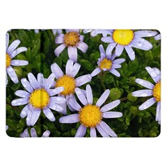Yellow White Daisy Flowers Samsung Galaxy Tab 8 9  P7300 Flip Case by yoursparklingshop