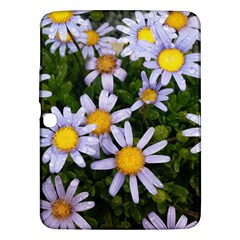 Yellow White Daisy Flowers Samsung Galaxy Tab 3 (10 1 ) P5200 Hardshell Case  by yoursparklingshop