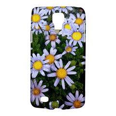 Yellow White Daisy Flowers Samsung Galaxy S4 Active (i9295) Hardshell Case