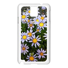 Yellow White Daisy Flowers Samsung Galaxy Note 3 N9005 Case (white) by yoursparklingshop