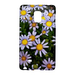 Yellow White Daisy Flowers Samsung Galaxy Note Edge Hardshell Case by yoursparklingshop