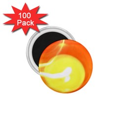 Orange Yellow Flame 5000 1 75  Button Magnet (100 Pack) by yoursparklingshop