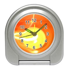 Orange Yellow Flame 5000 Desk Alarm Clock