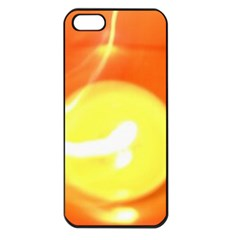 Orange Yellow Flame 5000 Apple Iphone 5 Seamless Case (black) by yoursparklingshop