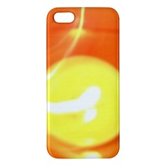 Orange Yellow Flame 5000 Apple Iphone 5 Premium Hardshell Case by yoursparklingshop