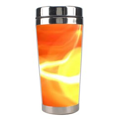 Orange Yellow Flame 5000 Stainless Steel Travel Tumbler by yoursparklingshop
