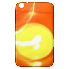 Orange Yellow Flame 5000 Samsung Galaxy Tab 3 (8 ) T3100 Hardshell Case  by yoursparklingshop
