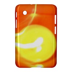 Orange Yellow Flame 5000 Samsung Galaxy Tab 2 (7 ) P3100 Hardshell Case  by yoursparklingshop