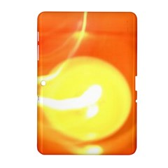 Orange Yellow Flame 5000 Samsung Galaxy Tab 2 (10 1 ) P5100 Hardshell Case  by yoursparklingshop