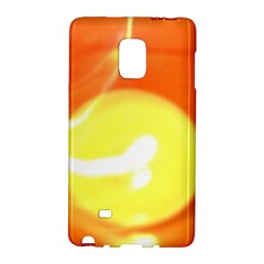 Orange Yellow Flame 5000 Samsung Galaxy Note Edge Hardshell Case