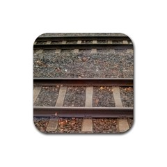 Railway Track Train Drink Coasters 4 Pack (square)