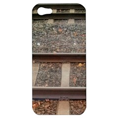 Railway Track Train Apple Iphone 5 Hardshell Case by yoursparklingshop