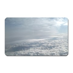 Sky Plane View Magnet (rectangular) by yoursparklingshop