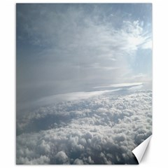Sky Plane View Canvas 8  X 10  (unframed) by yoursparklingshop