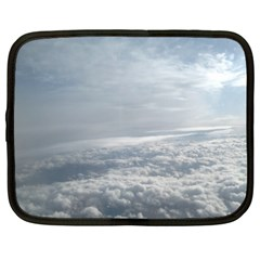Sky Plane View Netbook Sleeve (xxl)