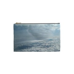 Sky Plane View Cosmetic Bag (small)