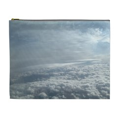Sky Plane View Cosmetic Bag (xl)