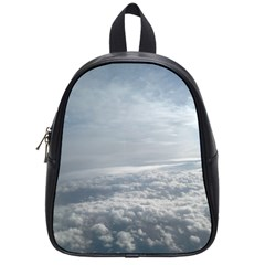 Sky Plane View School Bag (small)