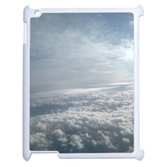 Sky Plane View Apple Ipad 2 Case (white)
