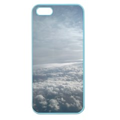 Sky Plane View Apple Seamless Iphone 5 Case (color)