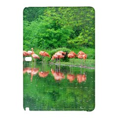 Flamingo Birds At Lake Samsung Galaxy Tab Pro 12 2 Hardshell Case by yoursparklingshop