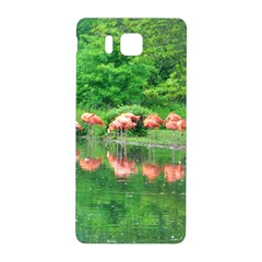 Flamingo Birds At Lake Samsung Galaxy Alpha Hardshell Back Case by yoursparklingshop