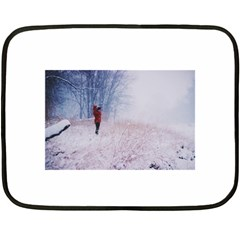 Untitled1 Mini Fleece Blanket (two Sided)