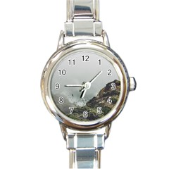 Untitled2 Round Italian Charm Watch by things9things