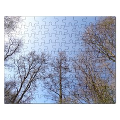 Large Trees In Sky Jigsaw Puzzle (rectangle) by yoursparklingshop