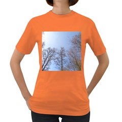 Large Trees In Sky Women s T Shirt (colored)