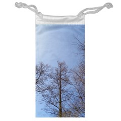 Large Trees In Sky Jewelry Bag