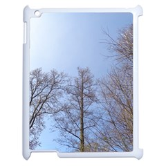 Large Trees In Sky Apple Ipad 2 Case (white) by yoursparklingshop
