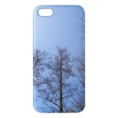 Large Trees In Sky Apple Iphone 5 Premium Hardshell Case by yoursparklingshop