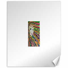 Inspirational Girl Canvas 16  X 20  (unframed) by sjart