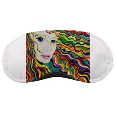 Inspirational Girl Sleeping Mask by sjart