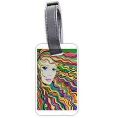Inspirational Girl Luggage Tag (two Sides)