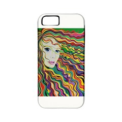 Inspirational Girl Apple Iphone 5 Classic Hardshell Case (pc+silicone) by sjart