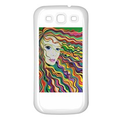 Inspirational Girl Samsung Galaxy S3 Back Case (white) by sjart