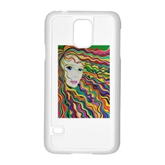 Inspirational Girl Samsung Galaxy S5 Case (white) by sjart